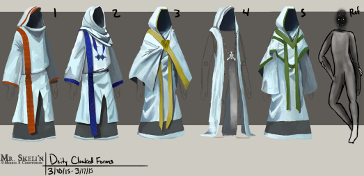 Deity Shared Form Robes